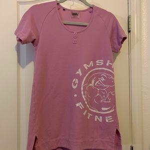 Gymshark Longline T shirt